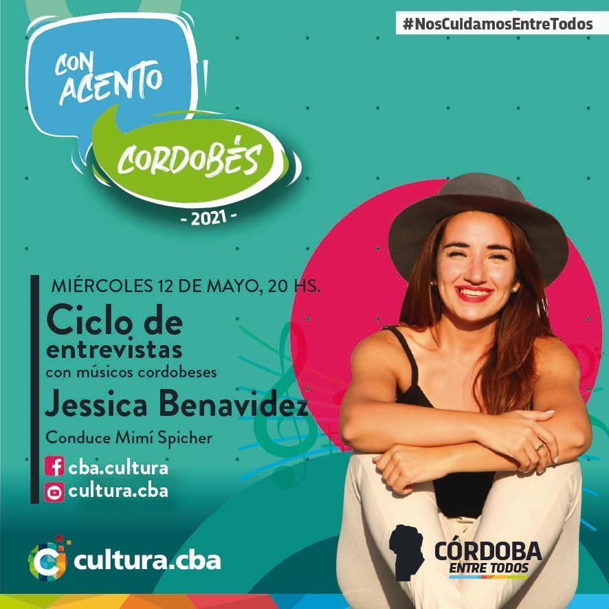 Con acento cordobés: Jessica Benavídez