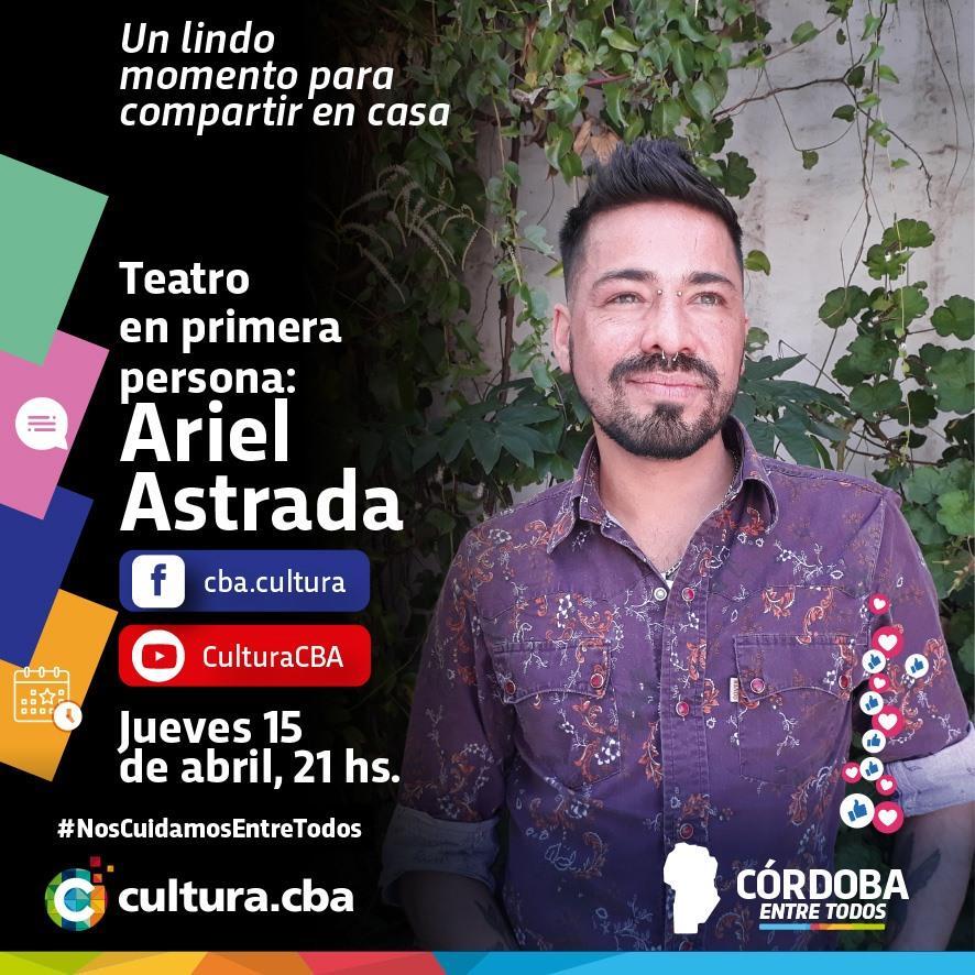 Teatro en primera persona: Ariel Astrada