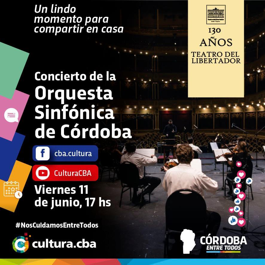 Concierto de la Orquesta Sinfónica de la Provincia de Córdoba
