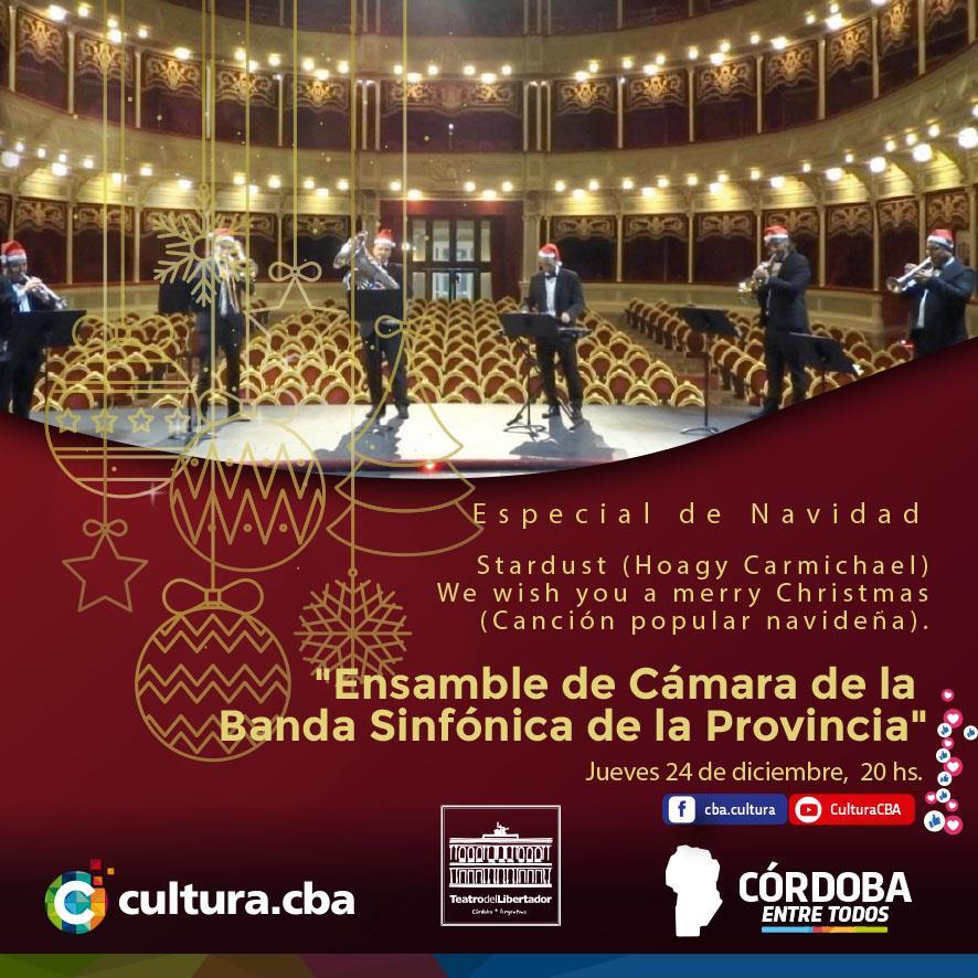 Especial de Navidad: Música Navideña: Quinteto de la Banda Sinfónica de la Provincia