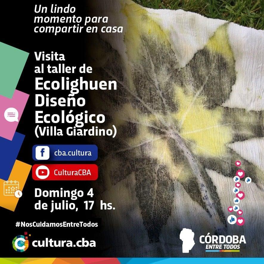 Visita al taller Ecolighuen Diseño Ecológico (Villa Giardino)