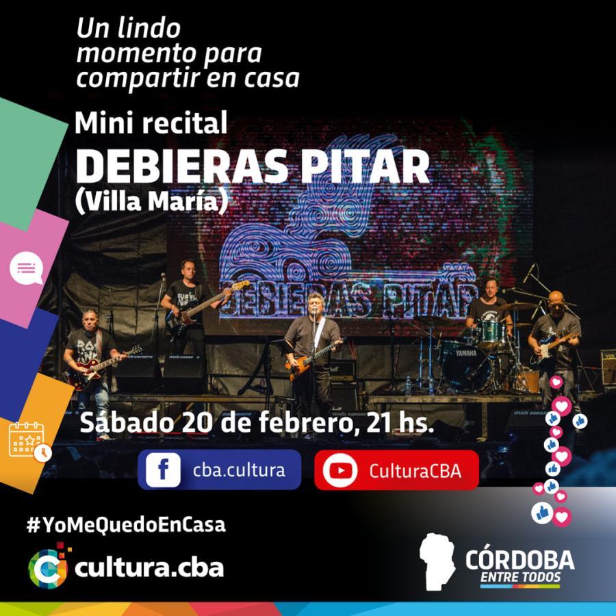 Mini recital de Debieras Pitar (Villa María)