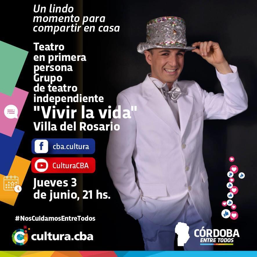 """Teatro en primera persona. Grupo de teatro independiente """"Vivir la vida"""" (Villa del Rosario)"""