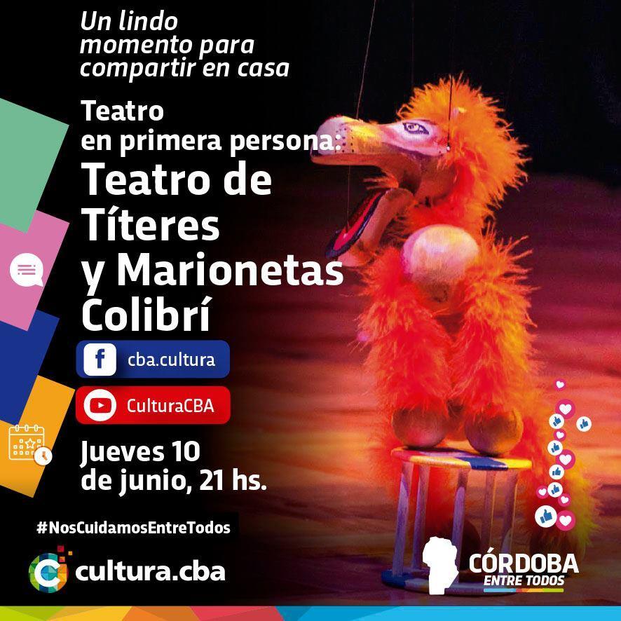Teatro en primera persona: Teatro de Títeres y Marionetas Colibrí