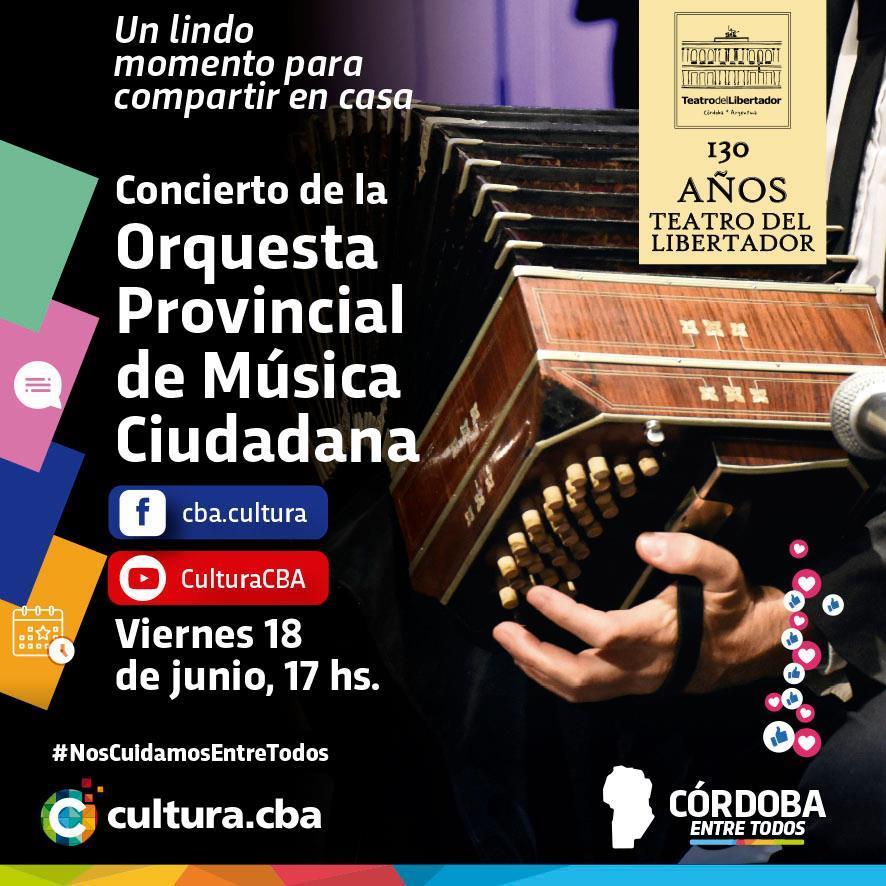 Concierto de la Orquesta Provincial de Música Ciudadana