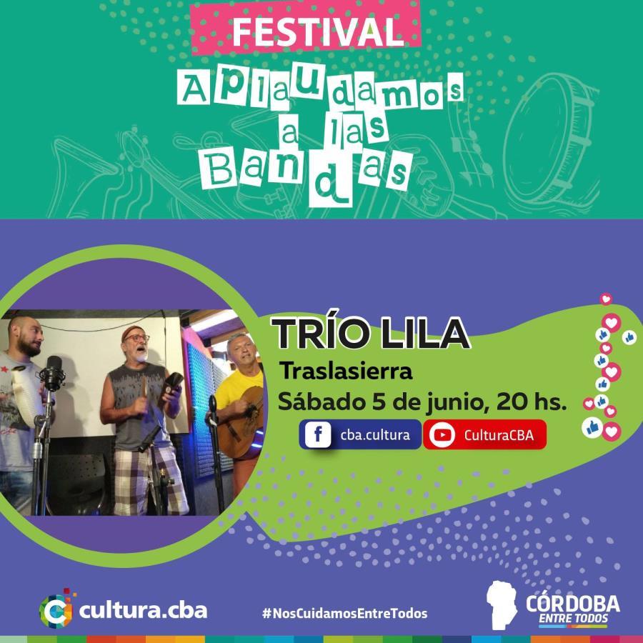 Festival Aplaudamos a las bandas: Trío Lila (Traslasierras)