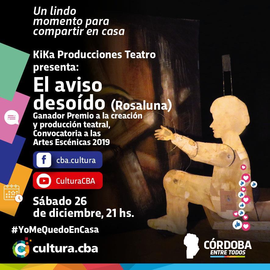 KiKa Producciones Teatro: El aviso desoído (Rosaluna)