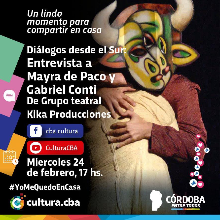 Diálogos desde el Sur: Mayra de Paco y Gabriel Conti
