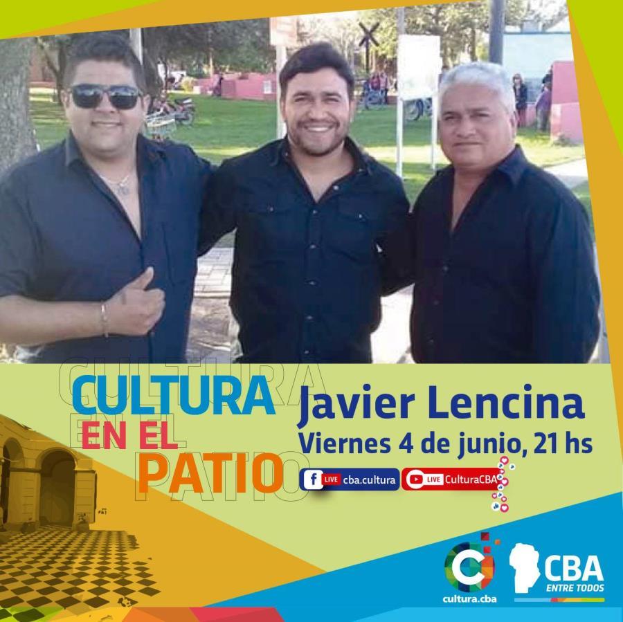 Cultura en el patio: Javier Lencina (Brinkman)
