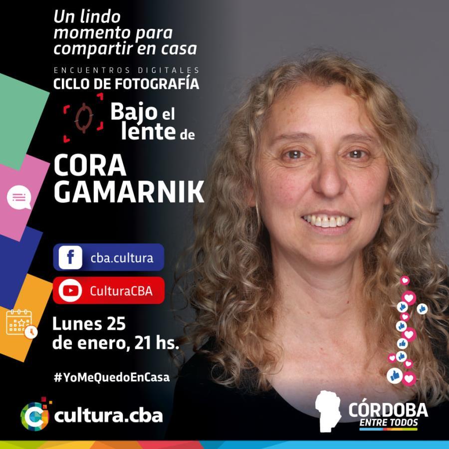 Bajo el lente de Cora Gamarnik