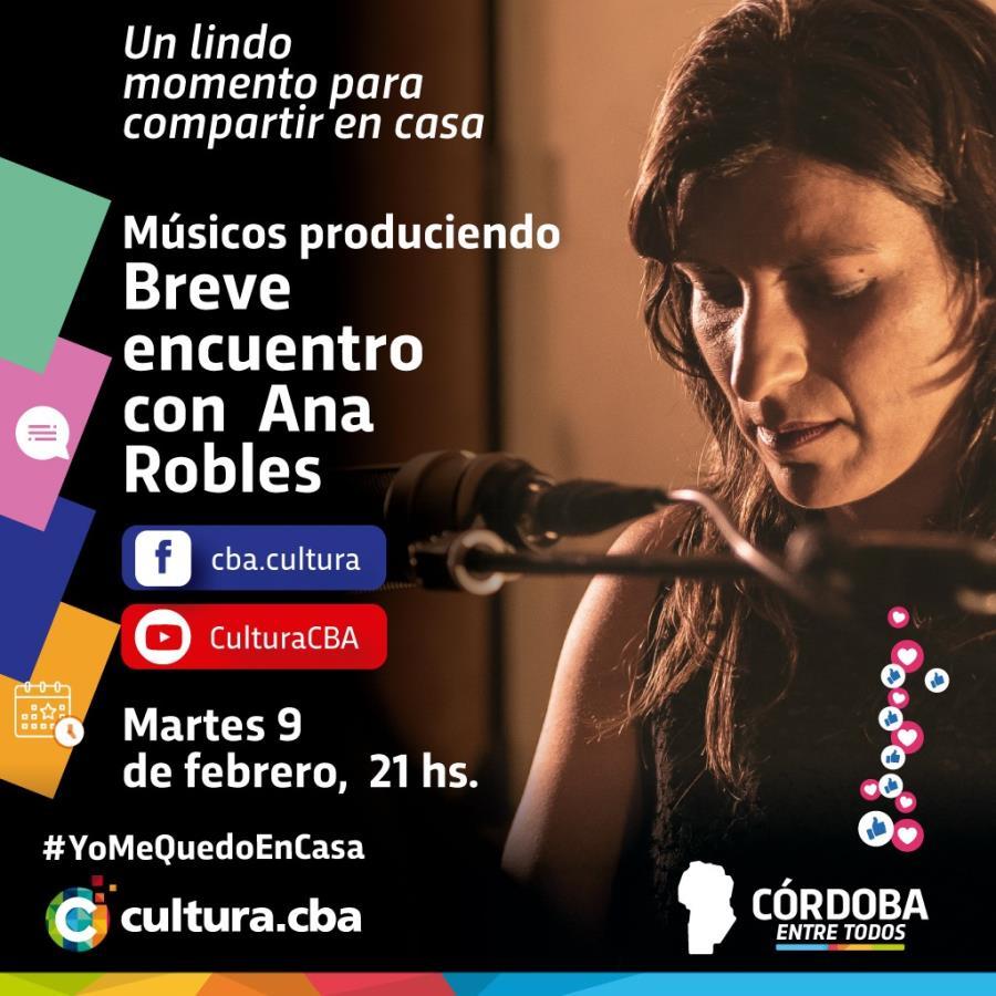 Músicos produciendo. Breve encuentro con Ana Robles