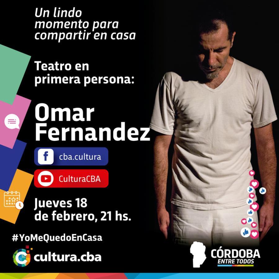 Teatro en primera persona: Omar Fernández