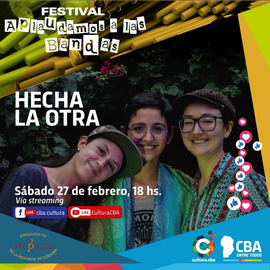 Festival Aplaudamos a las bandas: Hecha la Otra