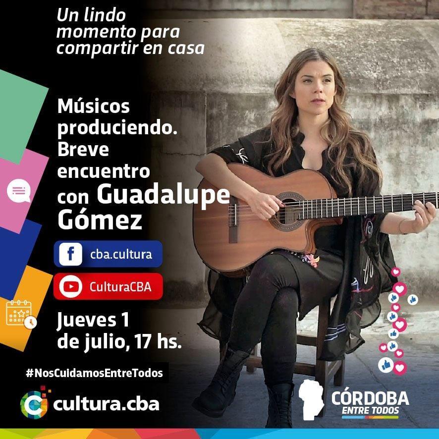Músicos produciendo: breve encuentro con Guadalupe Gómez