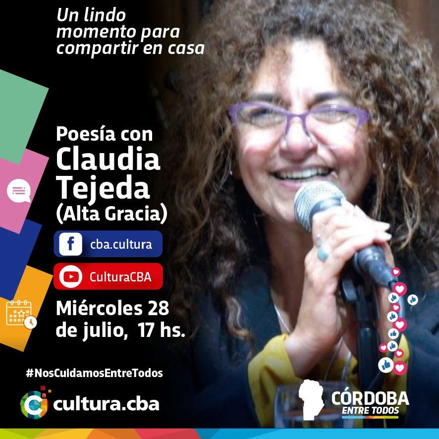 Poesía con Claudia Tejeda (Alta Gracia)
