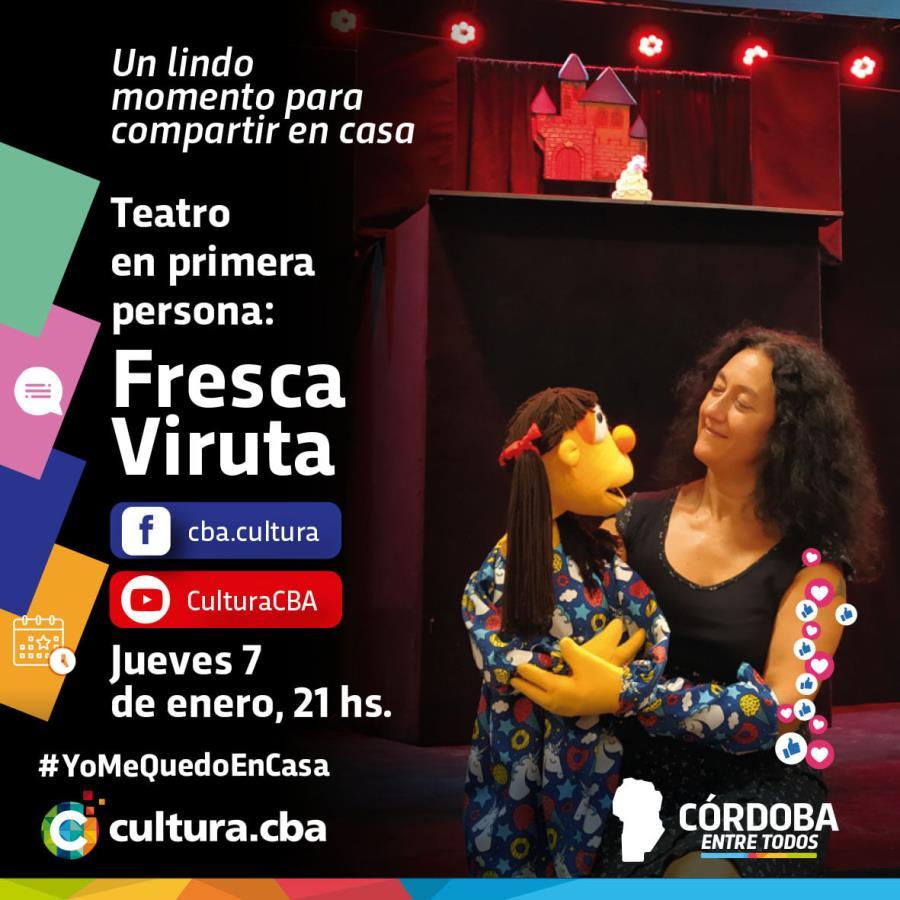 Teatro en primera persona: Fresca Viruta