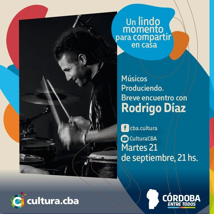Músicos Produciendo: breve encuentro con Rodrigo Diaz