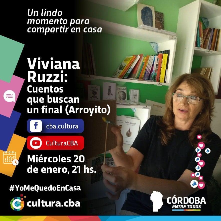 Viviana Ruzzi: Cuentos que buscan un final
