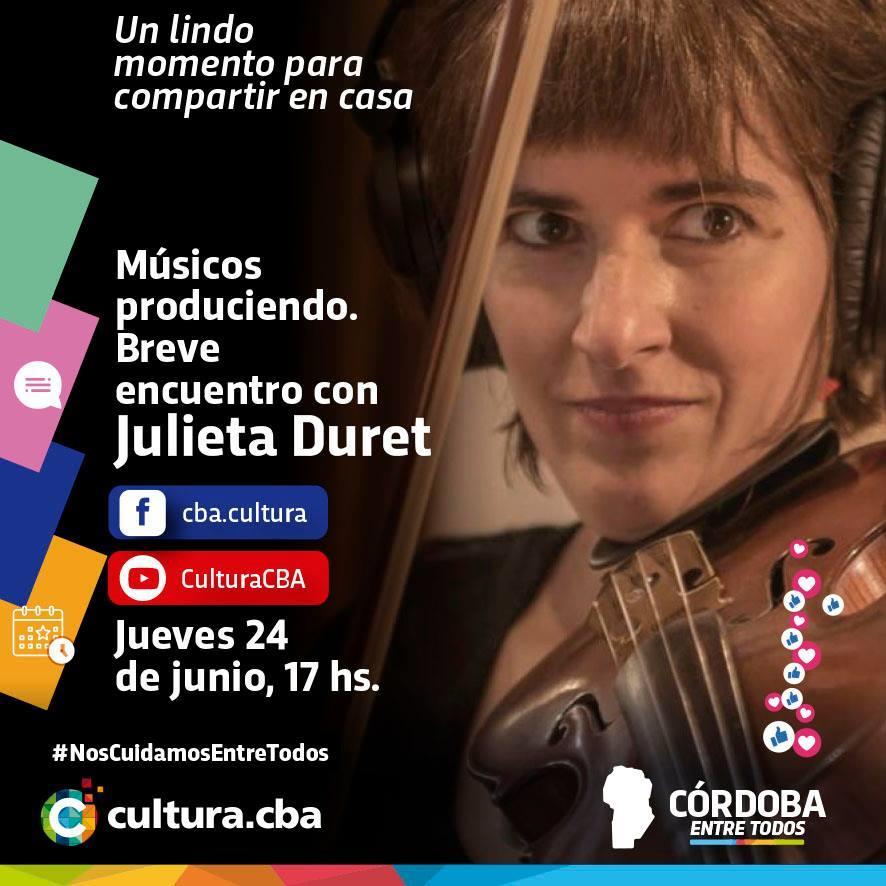 Músicos produciendo: breve encuentro con Julieta Duret