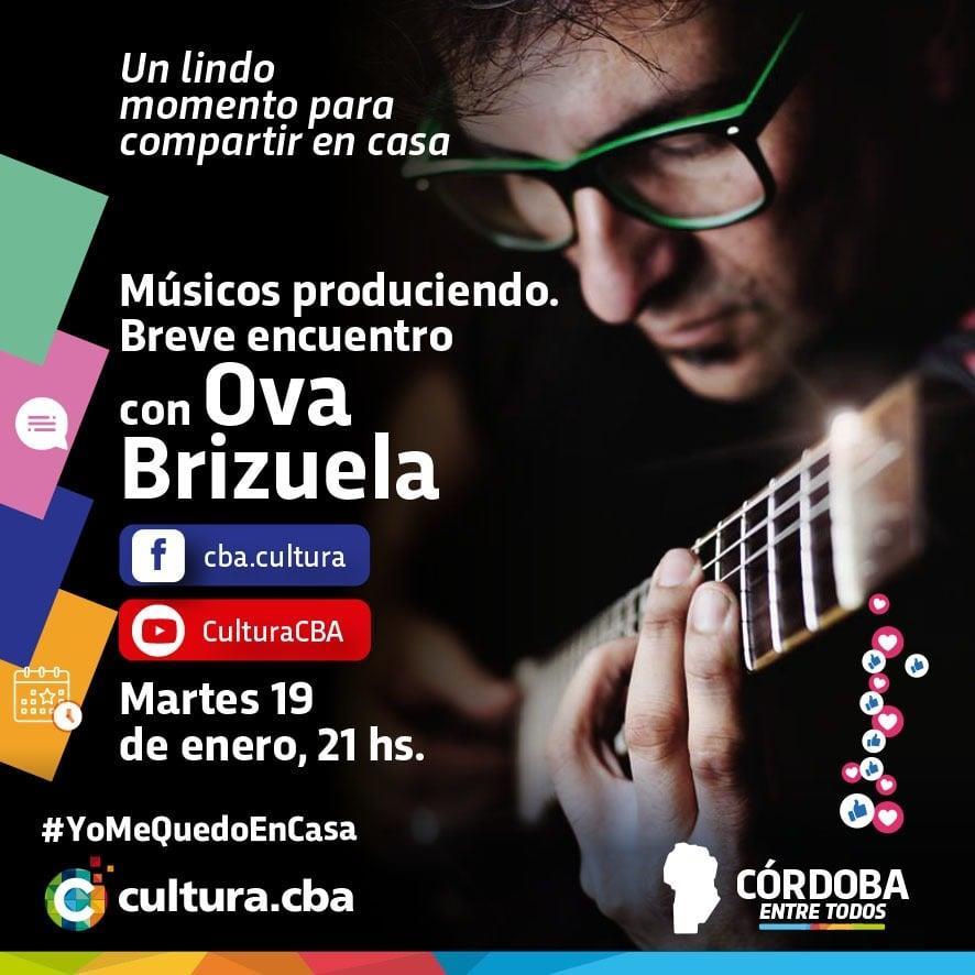 Músicos produciendo. Breve encuentro con Ova  Brizuela