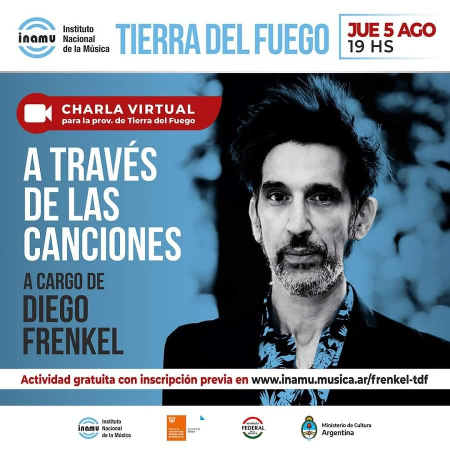"""""""A través de las canciones"""" A cargo de Diego Frenkel"""