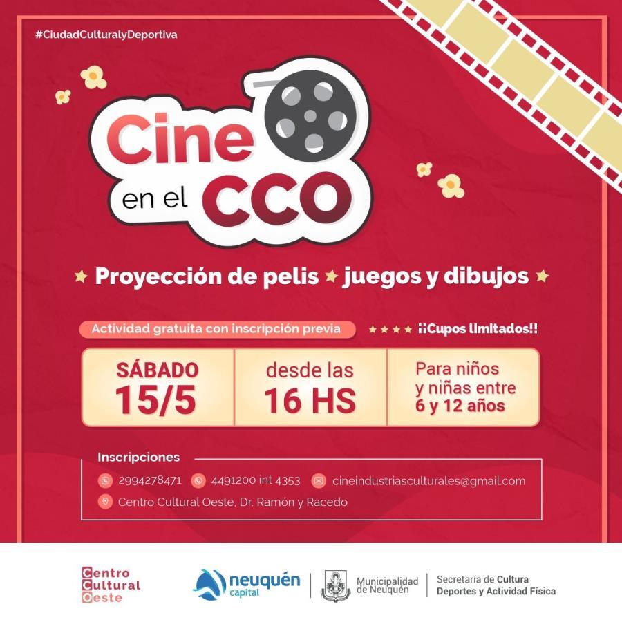 Cine en el CCO 🎬🍿