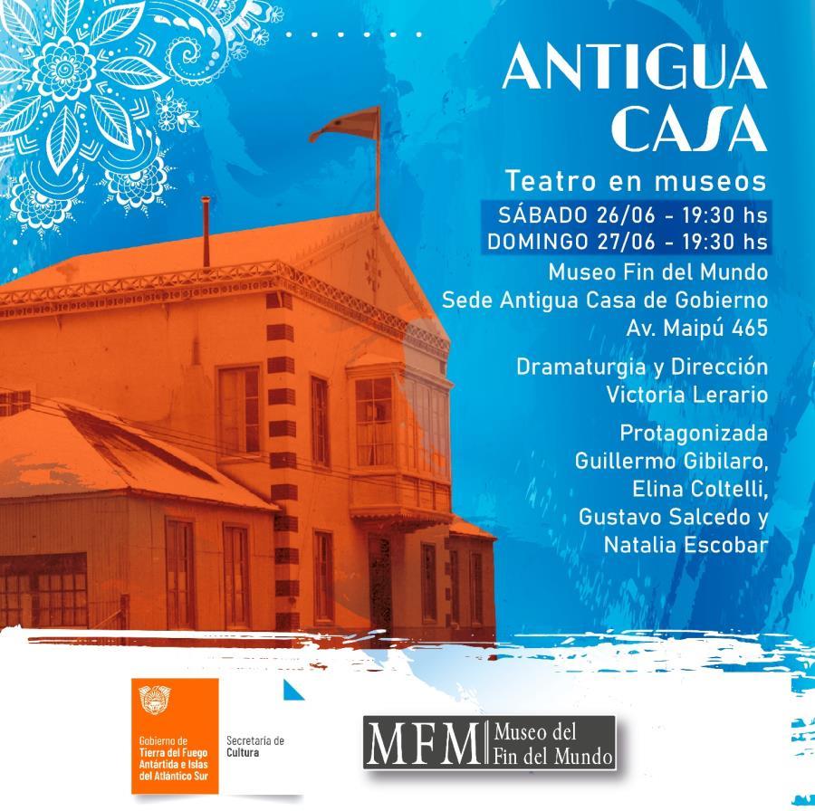 """🏛🎭#TeatroEnMuseos estrena """"Antigua Casa"""""""