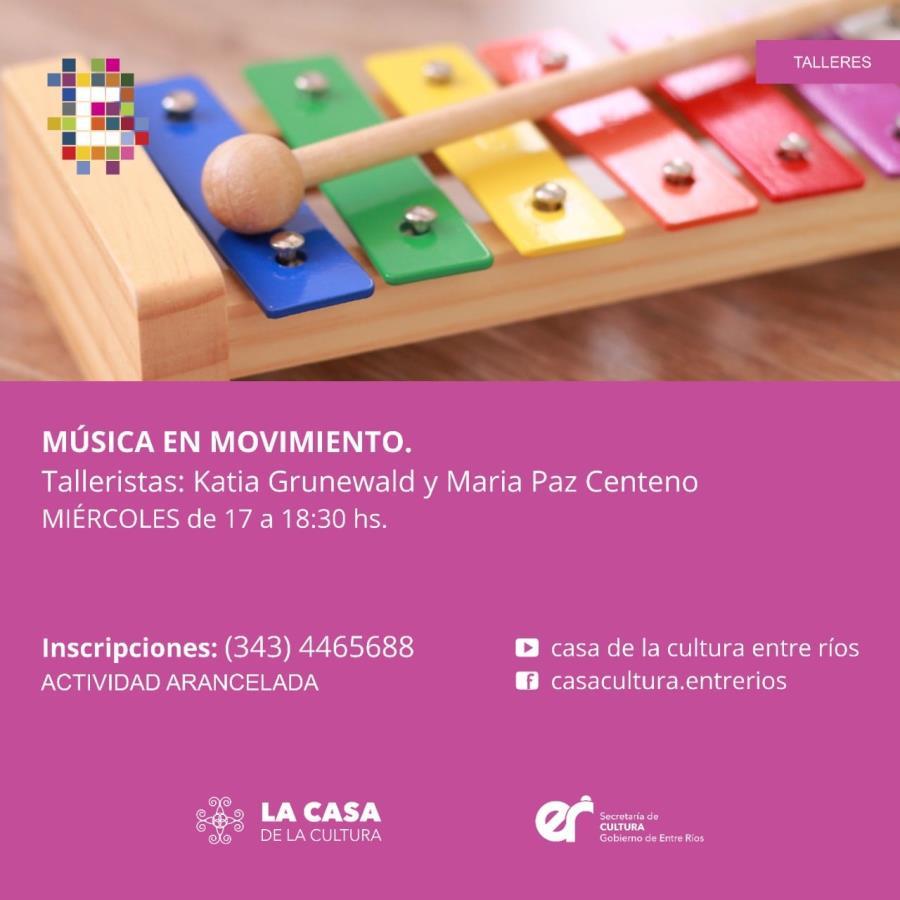 "🎼""Taller Música en Movimiento"""