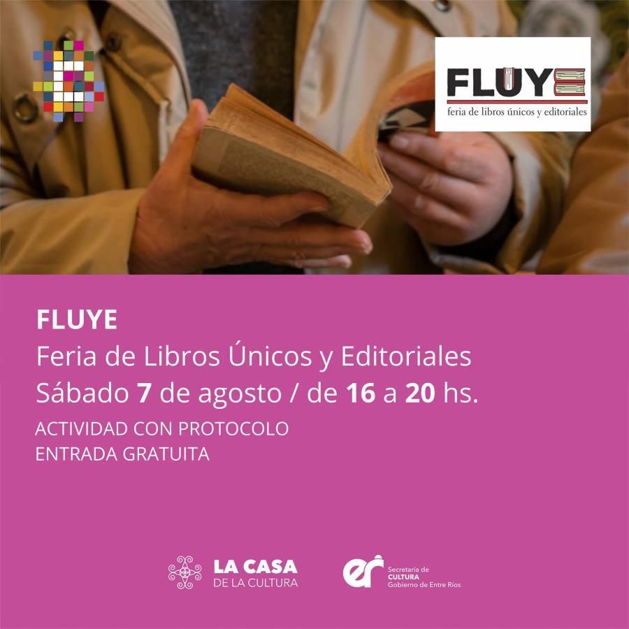 FLUYE: Feria de Libros Únicos y Editoriales