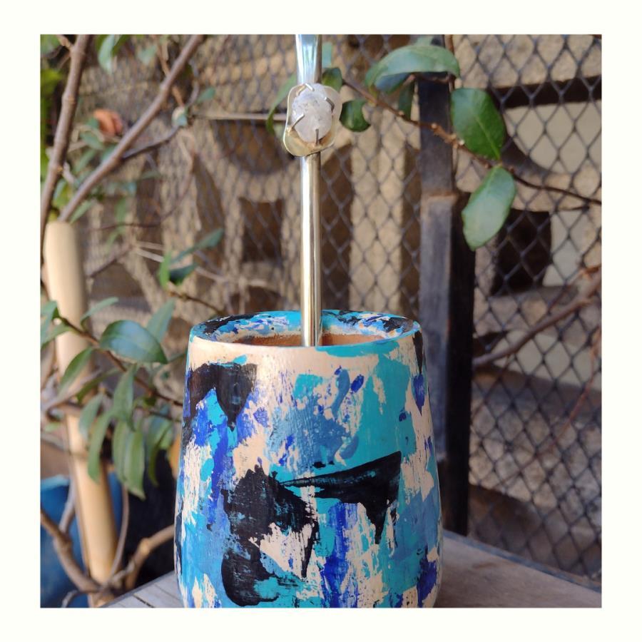 Mate Pollock Azul