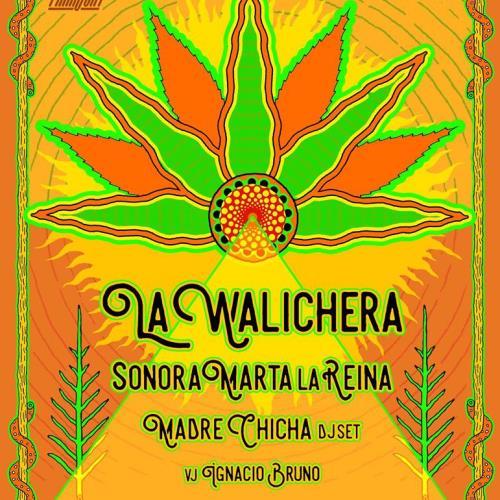 La Negra Sarabia trae la cumbia ancestral con La Walichera. También la orquesta Sonora Marta la Reina, y Madre Chicha DJ set