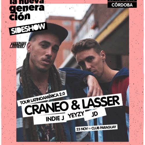 El hip hop europeo vuelve a Córdoba con Craneo y Lasser