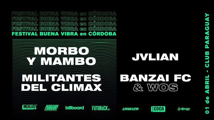 Festival Buena Vibra en Córdoba