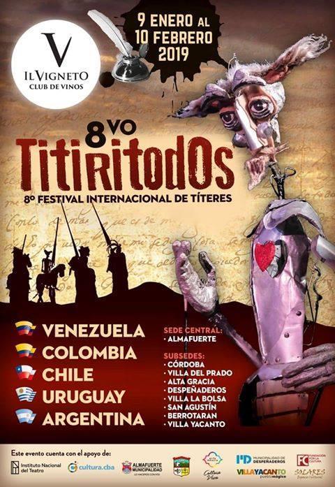 8 Edición del Festival Internacional de Títeres Titiritodos