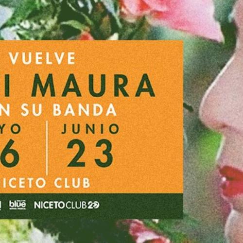 Mimi Maura con su banda - Niceto Club