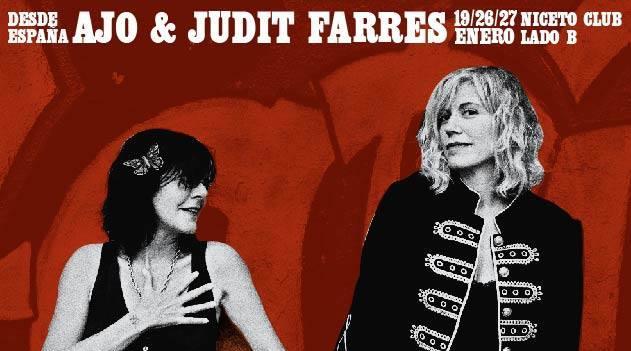 Ajo & Judit Farrés en el Lado B