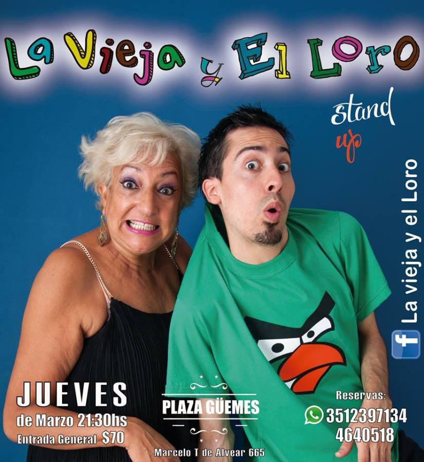 LA VIEJA Y EL LORO - Stand Up