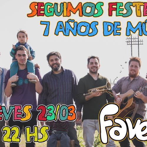 AKUN MAIA festeja sus 7 años en Favela