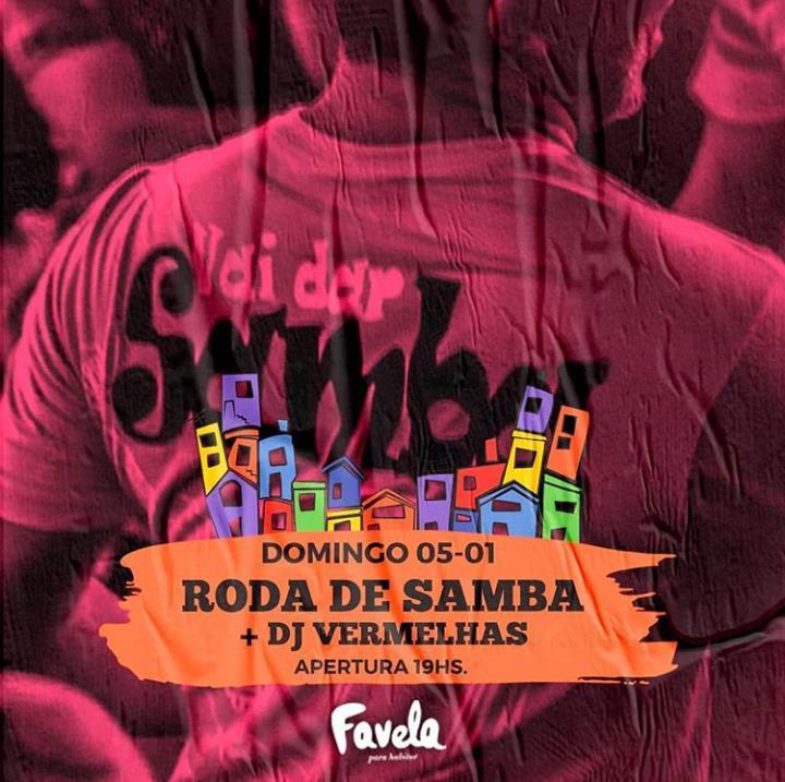 Roda de Samba + DJ Vermelhas