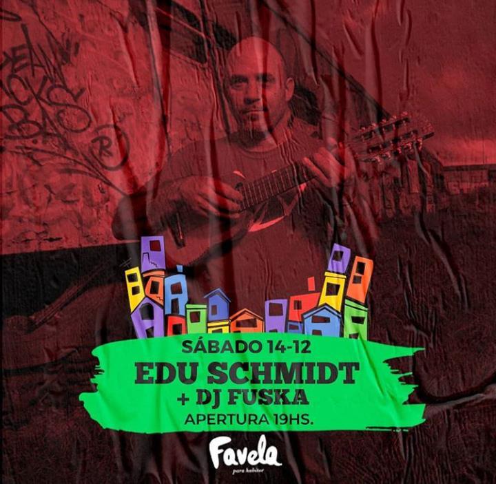 Edu Schmidt en Favela!