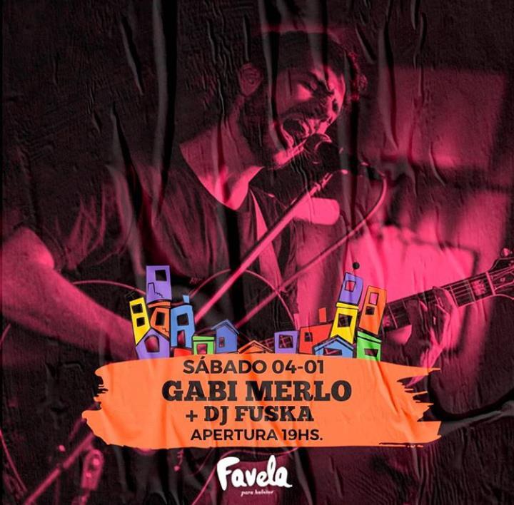 Gabi Merlo + DJ Fuska