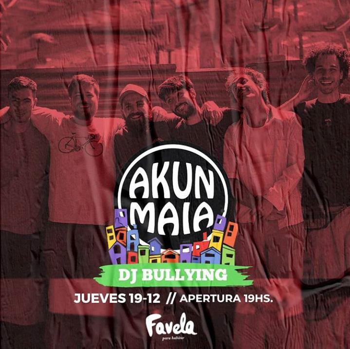 Akun Maia en Favela!