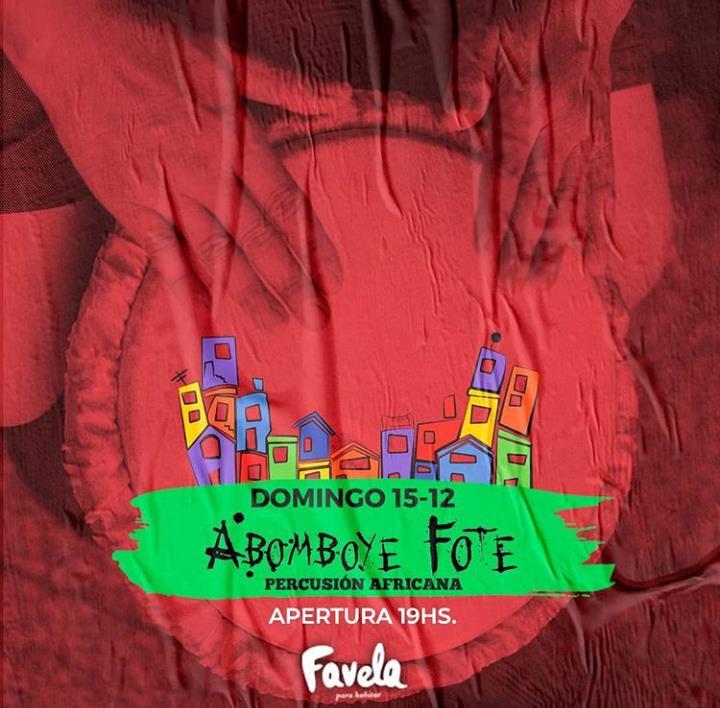 Abomboye Fote en Favela!