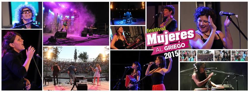 Festival Mujeres al Griego 2015