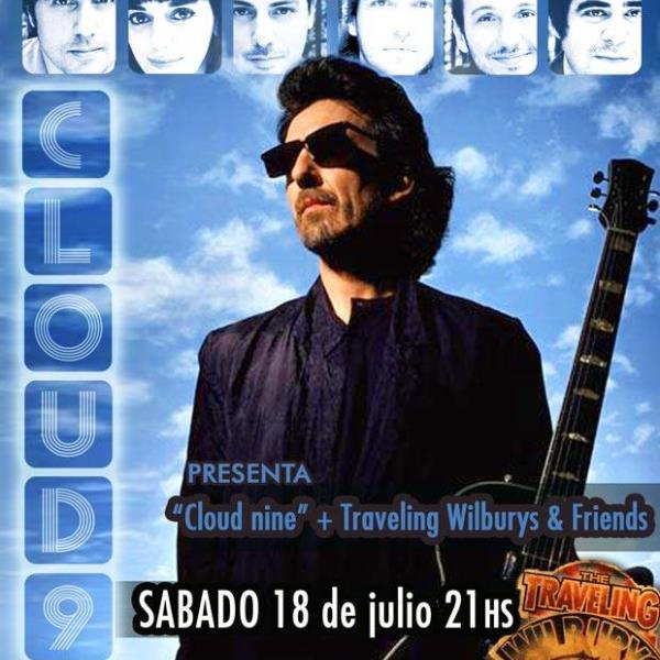 NUBE 9 PRESENTA GEORGE HARRISON - CLOUD 9 + TRAVELLING WILLBURYS AND FRIENDS