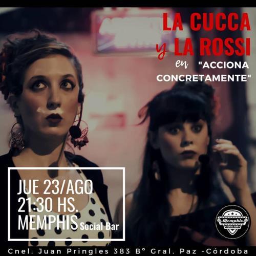 La Cucca y la Rossi en Memphis Bar