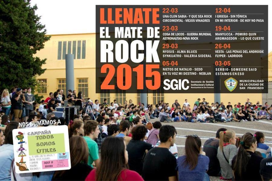 I Griega en el Llenate el Mate de Rock (San Francisco, Córdoba)