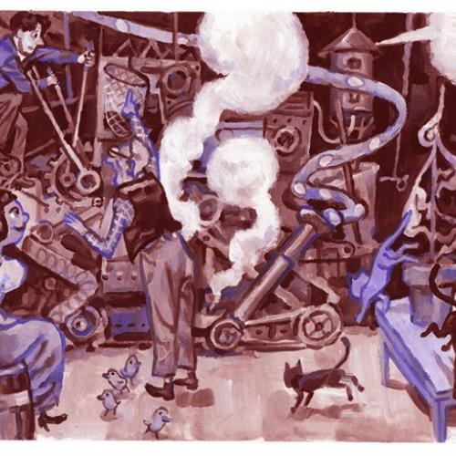 La Linterna Mágica: Los extraordinarios inventos de Charles R. Bowers.