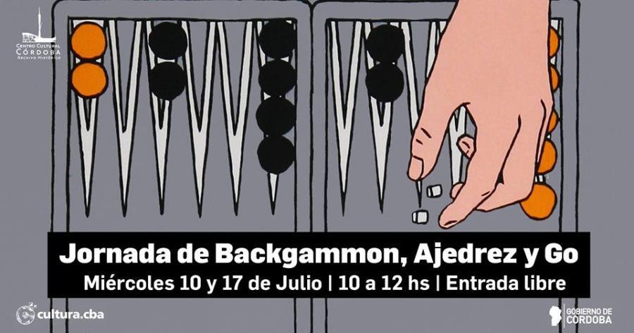Jornada de Backgammon, Ajedrez y Go