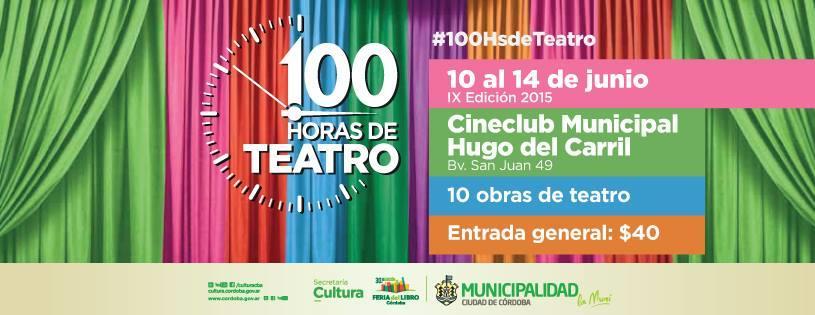 100 Horas de Teatro 2015